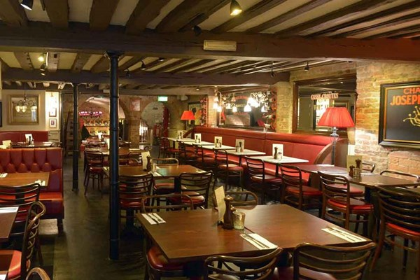 Three Course Meal and Sparkling Wine for Two at Café Rouge, Chester