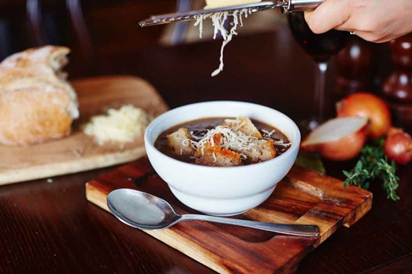 Three Course Meal and Sparkling Wine for Two at Café Rouge, Newbury