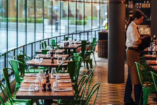 Three Course Meal with Prosecco for Two at Jamie's Italian, Canary Wharf