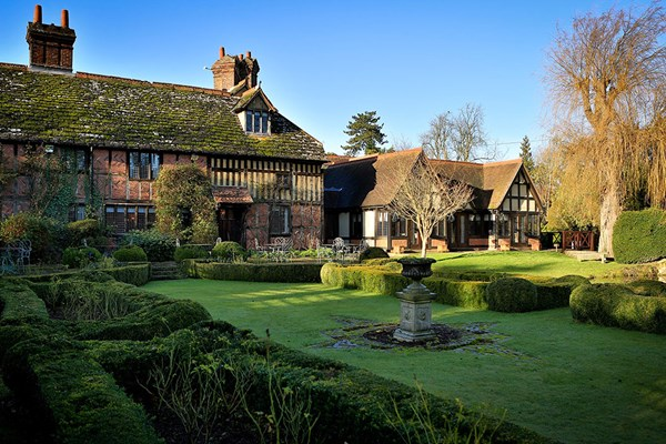 Luxury Escape with Dinner for Two at Langshott Manor