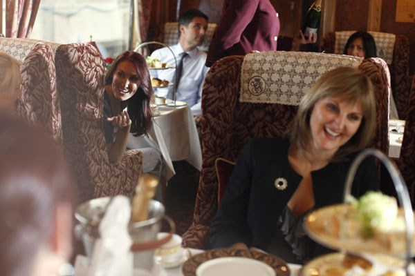 Afternoon Tea for One on the Northern Belle Luxury Train