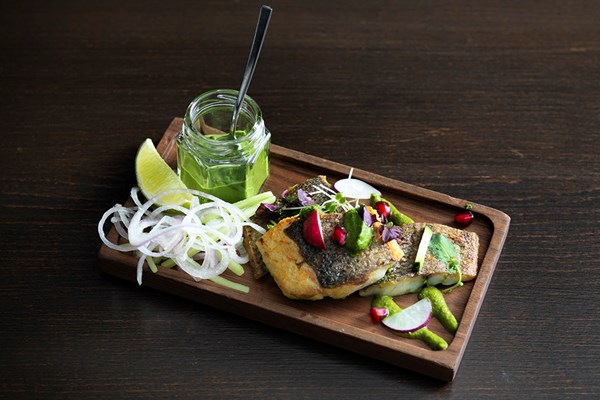 5 Course Sharing Street Food Menu with Green Spice Martinis at Benares for Two