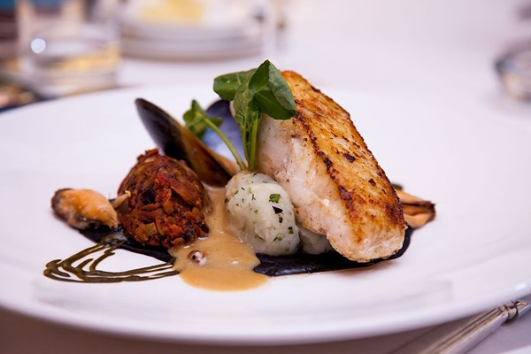 Three Course Meal with Wine for Two at Orestone Manor