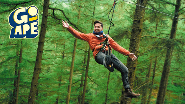 Zip Trekking Adventure at Go Ape for Two