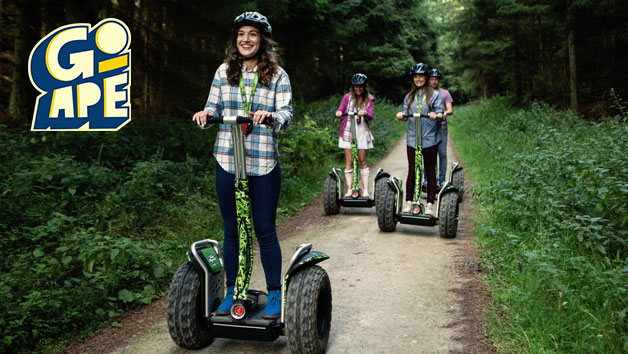 Forest Segway Experience at Go Ape for One
