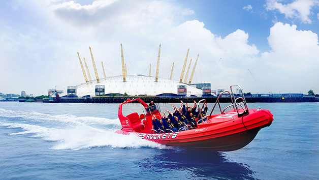 2 for 1 Extended High Speed Boat Ride with Thames Rockets for Two