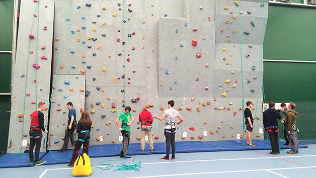 Indoor Climbing Adventure for Two with Savage Adventures