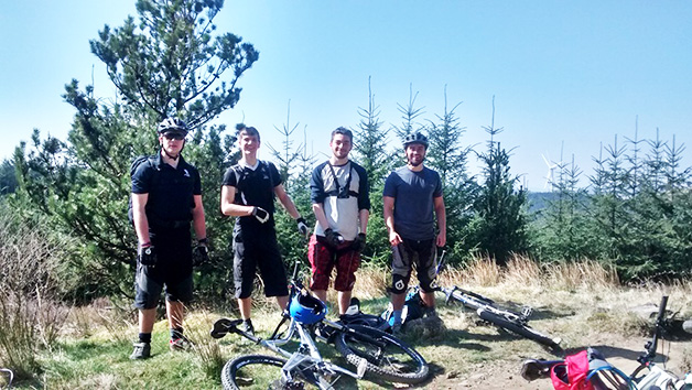 Mountain Biking Adventure for Two with Savage Adventures
