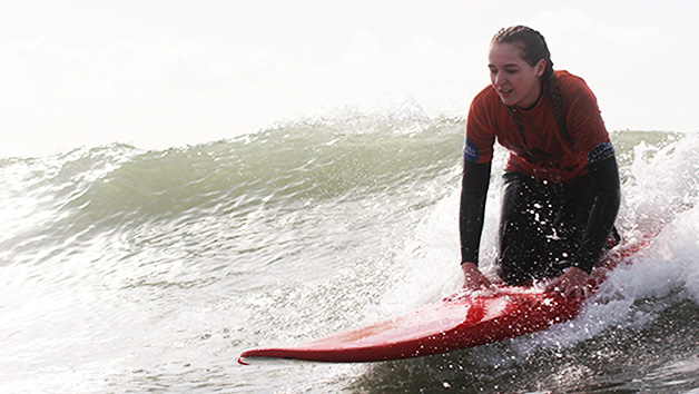 Two Hour Surf Lesson for Two at Globe Boarders Surf Co.
