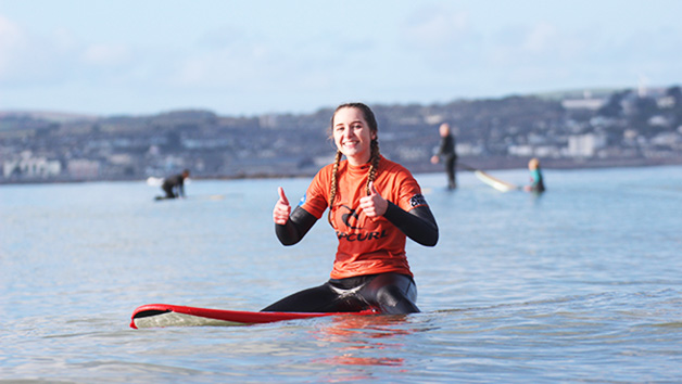 Three Day Surfing Experience for One at Globe Boarders Surf Co. Cornwall
