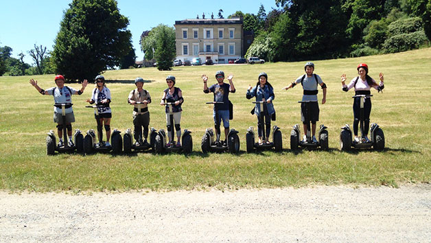 Segway Tutorial and Safari at Devon Country Pursuits for Two