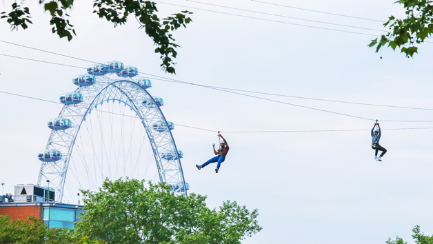 City Zip Ride in London for One