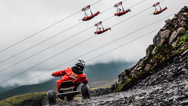 Quarry Karts and Velocity Experience at Zip World for Two - Midweek
