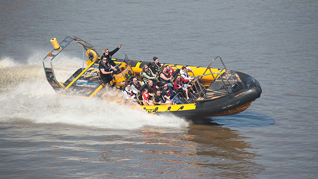 Taster High Speed Boat Ride on the River Thames for Two