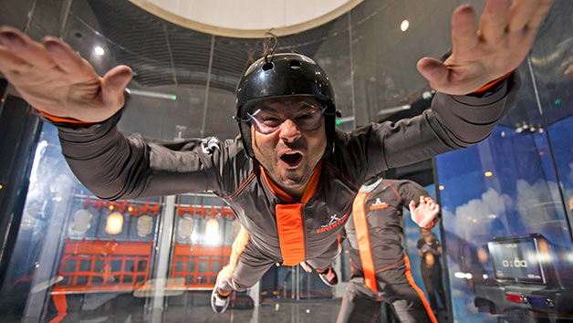 The Bear Grylls iFLY and Challenge Experience for Two