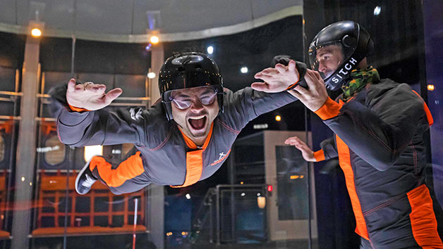 The Bear Grylls Adventure iFLY Experience and Free Photo for Two