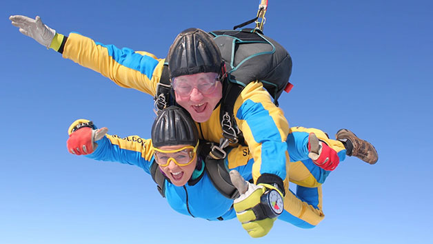 Tandem Skydive in Cumbria for One