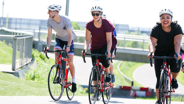 Outdoor Cycling at Lee Valley VeloPark for Two