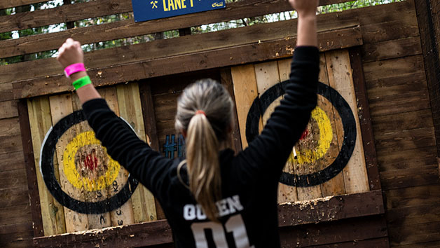 Axe Throwing for One Adult at Go Ape