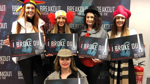 Escape Room Entry for Two Adults and Two Children at Breakout