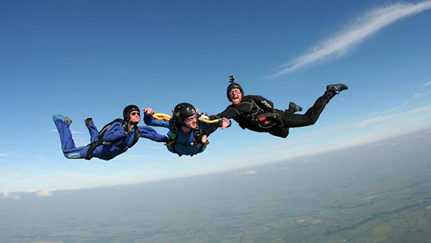 Tandem Skydive in Nottingham for One
