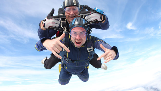 Tandem Skydive in Beccles for One