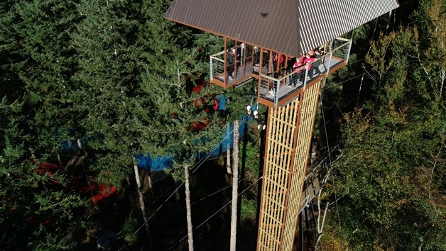 Entry to Plummet 2 for Two at Zip World Fforest