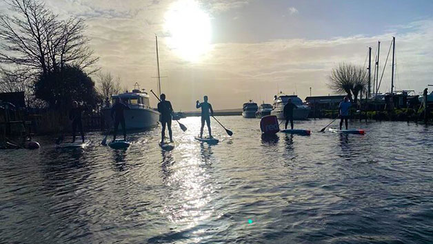 Stand Up Paddleboarding Taster Session for Two with The SUP School