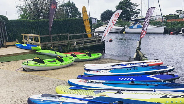 Stand Up Paddleboard or Kayak Hire at The SUP School for Two
