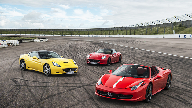 Triple Supercar Driving Experience at a Top UK Race Track