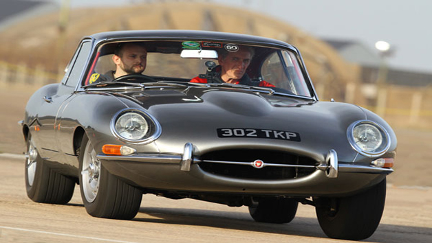 E Type Jaguar Driving Experience for One