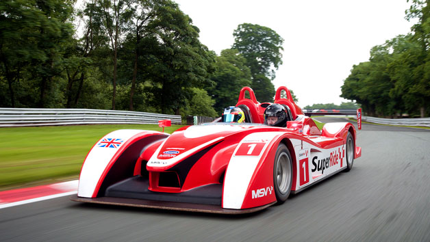 SuperRide in a Le Mans Sports Car at Oulton Park or Brands Hatch for One