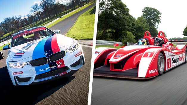 F4 Single Seater Driving Experience with SuperRide in Le Mans Sports Car at Brands Hatch for One