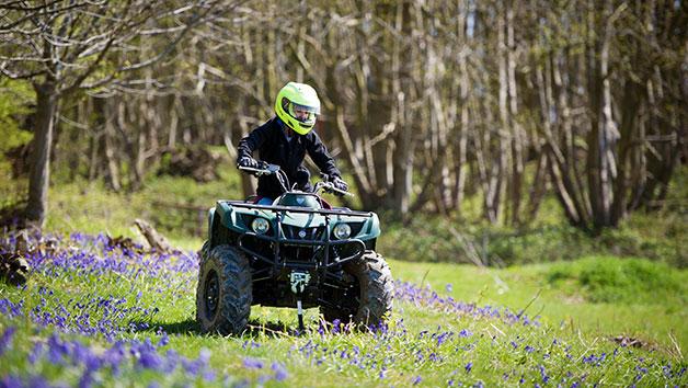 90 Minute Quad Bike Thrill for Two People