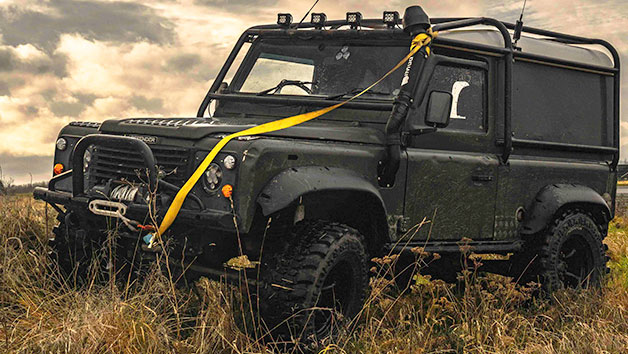 Land Rover Defender Off Road Driving Experience for Two - Special Offer