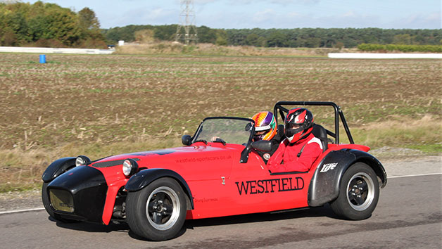 Six Lap Westfield Sportscar Experience for One Person