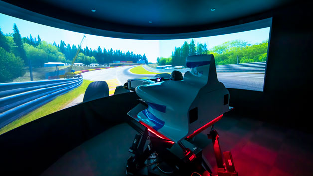 Motorsport Simulator Session at Base Performance Simulator for One