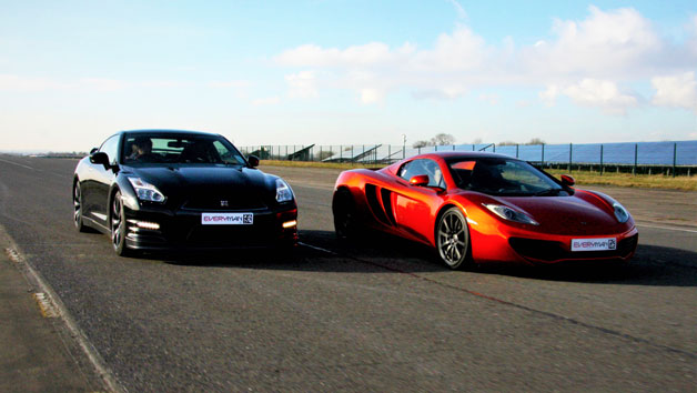 Double Supercar Driving Blast for Juniors and Free High Speed Passenger Ride – Week Round