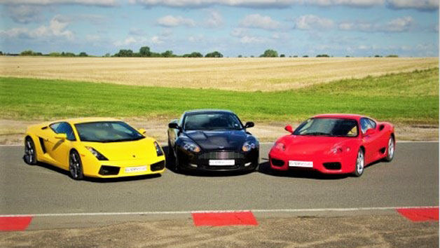 Triple Supercar Driving Blast for Juniors and Free High Speed Passenger Ride – Week Round