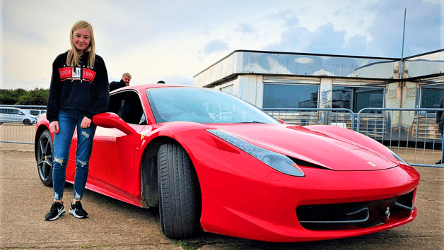 Supercar Driving Thrill for Juniors and Free High Speed Passenger Ride – Week Round