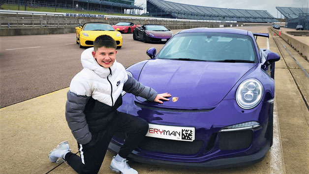 Triple Supercar Driving Thrill for Juniors and Free High Speed Passenger Ride – Week Round