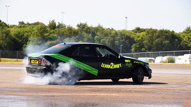 One Hour Drifting Class and Five Passenger Laps for Two People