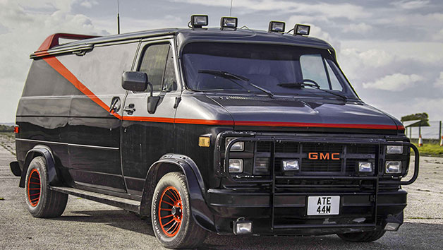 The A-Team Van Driving Experience and a Free High Speed Passenger Ride for One Person