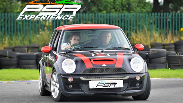 One Hour Junior Driver Training in a Mini Cooper for One Person