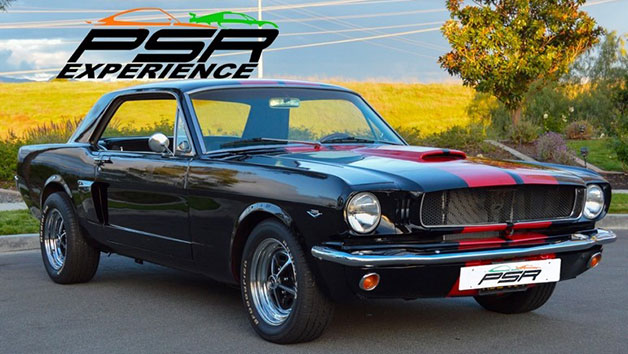 Three Mile Muscle Car Driving Blast for One