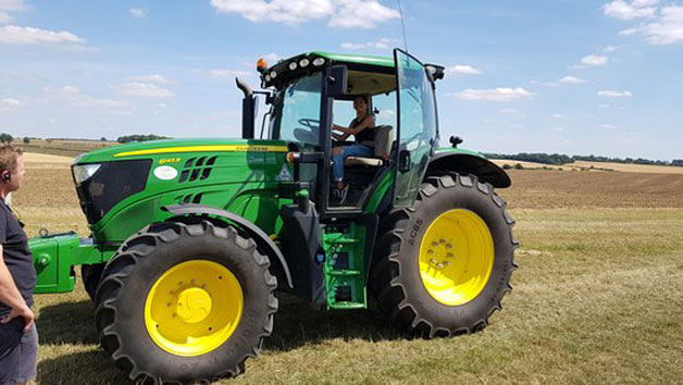 30 Minute John Deere Tractor Driving Experience for One