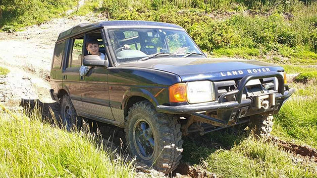 One Hour One-to-One 4X4 Off Road Junior Driving Experience