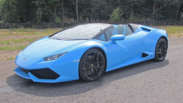 Triple Lamborghini Driving Experience for One and Free High Speed Ride