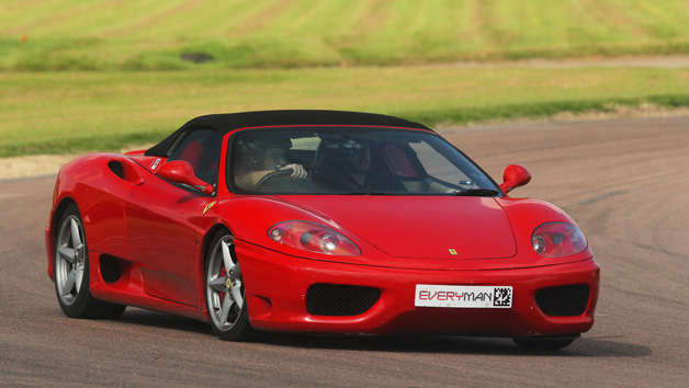 Triple Ferrari Driving Blast for One and Free High Speed Ride