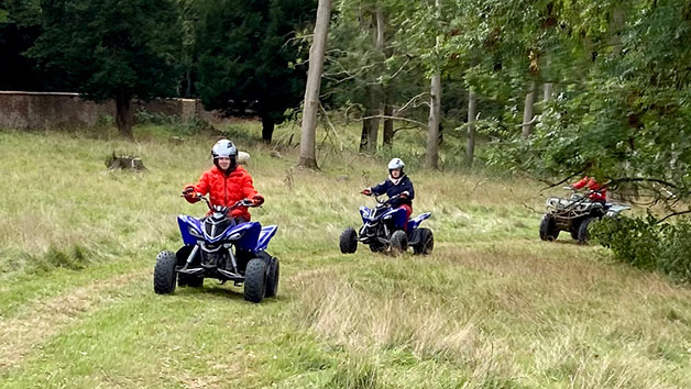 Two Hour Junior Quad Biking Thrill for One in Kent